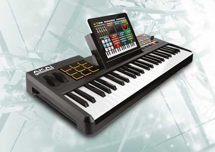 Akai Pro SynthStation49 &#8211; iPad als Workstation