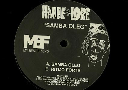 Samba Oleg EP von Hanne &amp; Lore auf My Best Friend