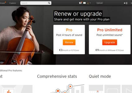 Soundcloud Pro Unlimited