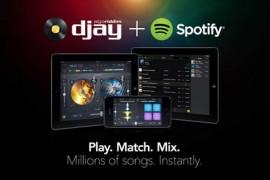 Djay 2 läuft ab sofort mit Spotify