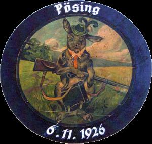 Schützenscheibe von 1926