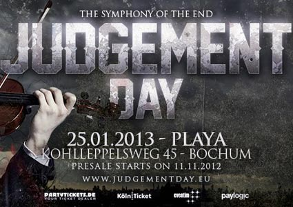 Judgement Day 2013 - Symphony of the End