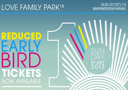 Love Family Park 2013 Tickets