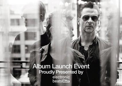 "Launch Event zum Depeche Mode Album ""Delta Machine"""