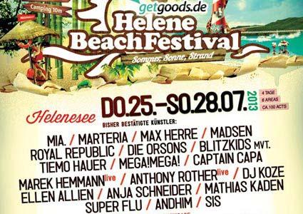 Helene Beach Festival 2013