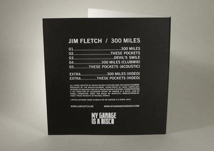 Jim Fletch - 300 Miles (EP)