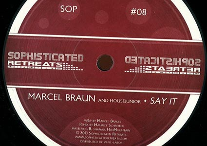 Say It EP - Marcel Braun & Housejunior