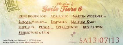 GEILE TIERE 6