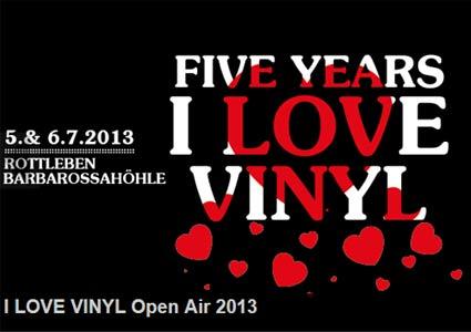 I Love Vinyl Openair 2013