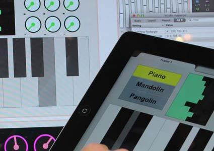Mira Controller für Max am iPad