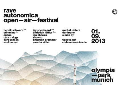 Rave Autonomica 2013 // Olympiapark München
