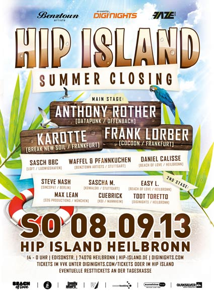 Hip Island Summer Closing 2013