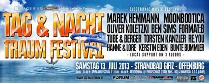 Tag & Nacht Traum Festival 2013