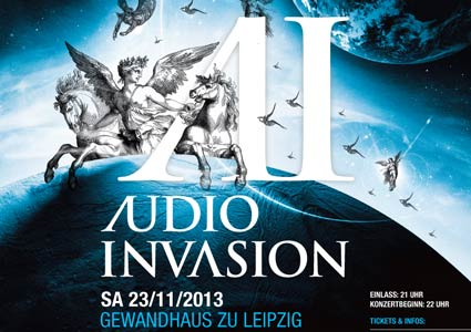 Audio Invasion 2013 in Leipzig