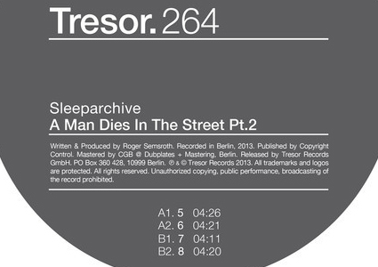 A Man Dies In The Street Pt.2 - Sleeparchive