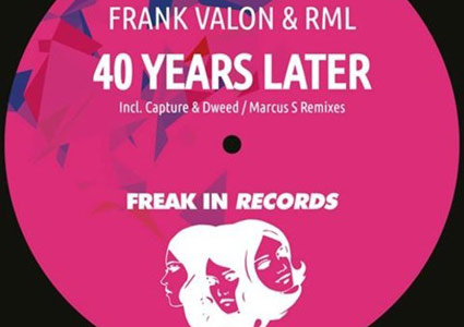 40 Years Later EP - Frank Valon & RML