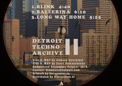 Detroit Techno Archive II - Alex W und Denizo