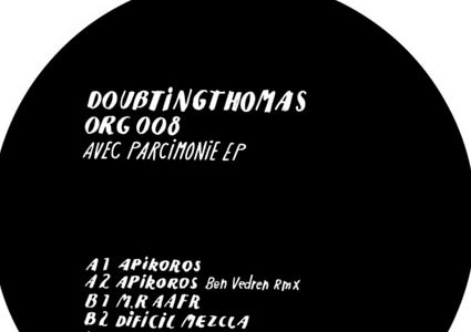 Avec Parcimonie EP - DoubtingThomas