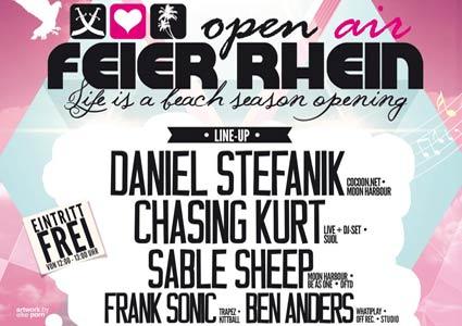 Feier Rhein 2014