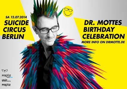 Dr. Mottes Birthday Celebration 2014