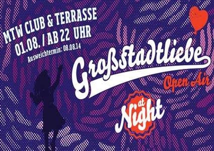 Großstadtliebe at Night 2014