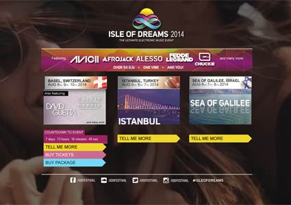 Isle Of Dreams 2014