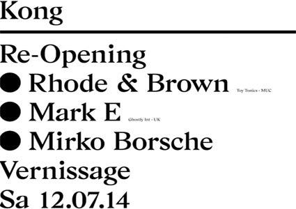 Kong Re-Opening 2014