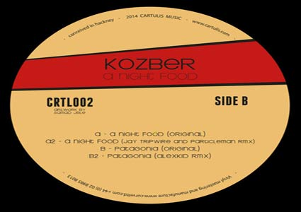 A Night Food EP - Kozber