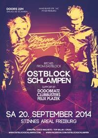 Sa. 20.9. @ Stinnes Areal, Freiburg: BITCHES FROM EASTBLOCK - Ostblockschlampen