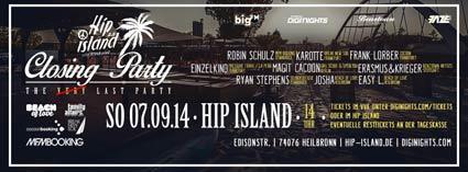 Hip Island Closing 2014