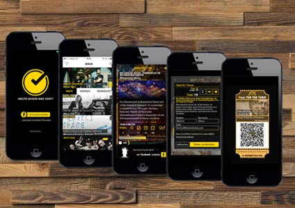 TickTickTickets iPhone App