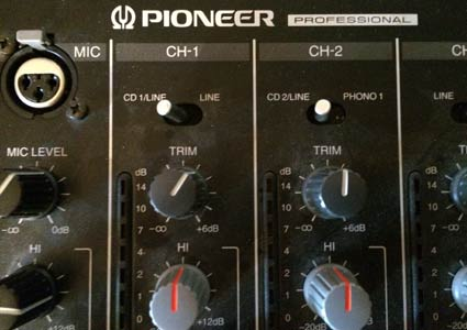 Pioneer DJ-Equipment