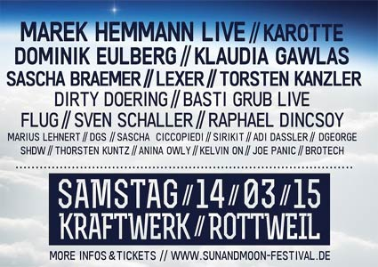 Sun and Moon Festival 2015 in Rottweil