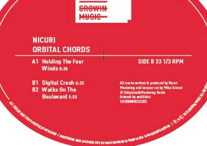 Orbital Chords EP by Nicuri