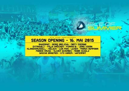 Isle of Summer 2015 - Season Opening
