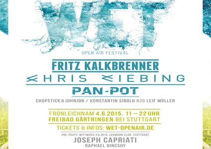 WET Open Air Festival 2015