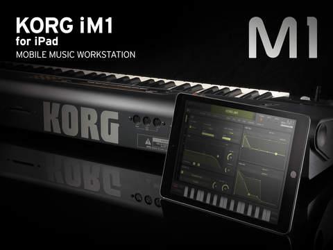 Korg iM1 als iPad App