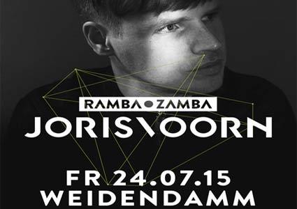 Ramba Zamba Hannover mit Joris Voorn am 24. Juli 2015