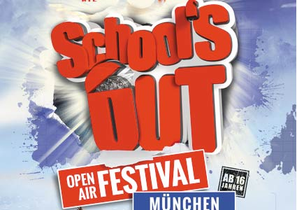 School's Out Open Air Festival-Tour 2015