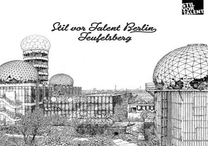 Berlin – Teufelsberg Compilation auf Stil Vor Talent