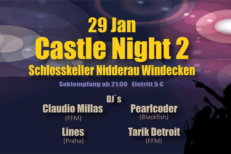 Castle Night - Part 2 im Schlosskeller Windecken