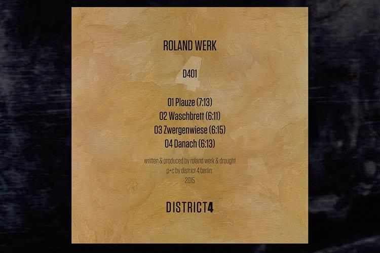 D401 EP - Roland Werk