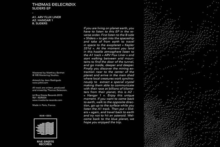 Sliders - Thomas Delecroix