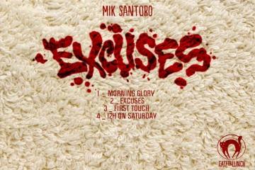 Mik Santoro - Excuses EP
