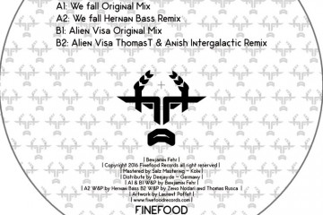 We Fall EP - Benjamin Fehr