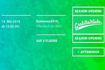 Großstadtliebe Open Air 2016 Season Opening