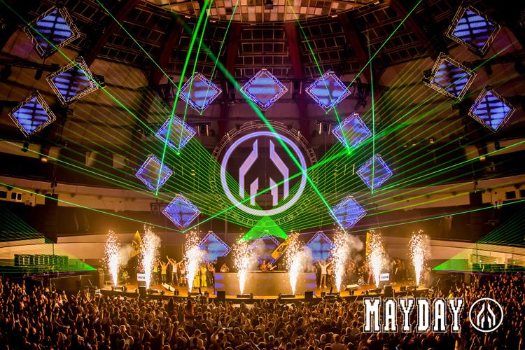 Mayday Rave Techno Techhouse Hardcore House