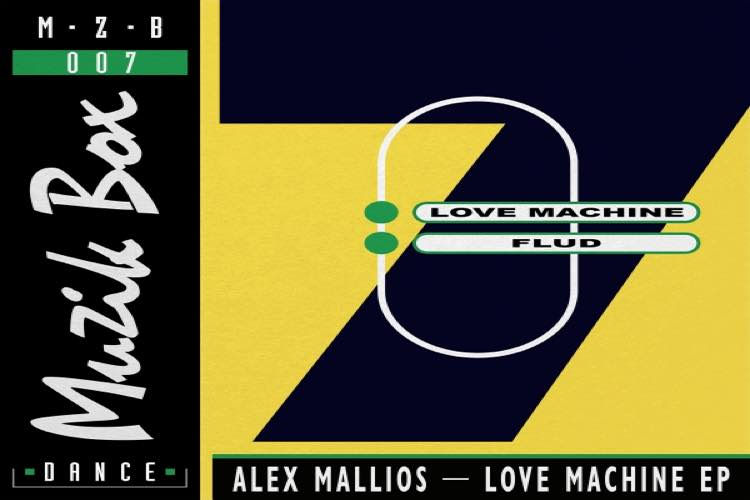 Love Machine EP by Alex Mallios