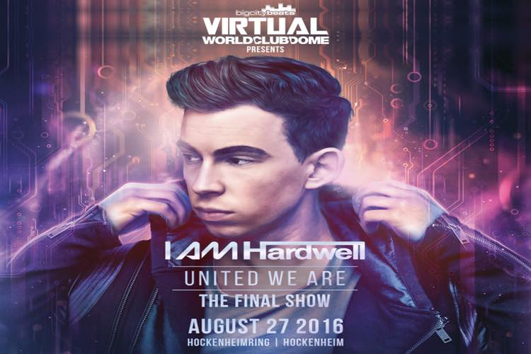 I AM Hardwell – United We Are am Hockenheimring