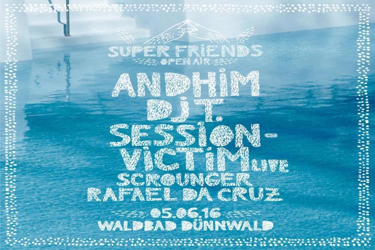 Andhim Superfriends Open Air 2016